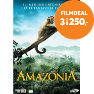 Produktbilde for Amazonia (DVD)