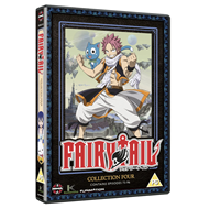 Fairy Tail - Collection Four (UK-import) (DVD)