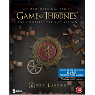 Game Of Thrones - Sesong 2 - Limited Edition Steelbook (BLU-RAY)