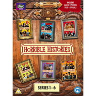 Horrible Histories - Sesong 1 - 6 (UK-import) (DVD)