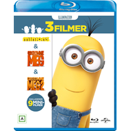 Minions Collection (Minions / Grusomme Meg / Grusomme Meg 2) (BLU-RAY)