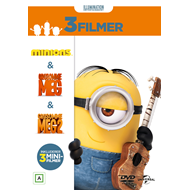 Minions Collection (Minions / Grusomme Meg / Grusomme Meg 2) (DVD)