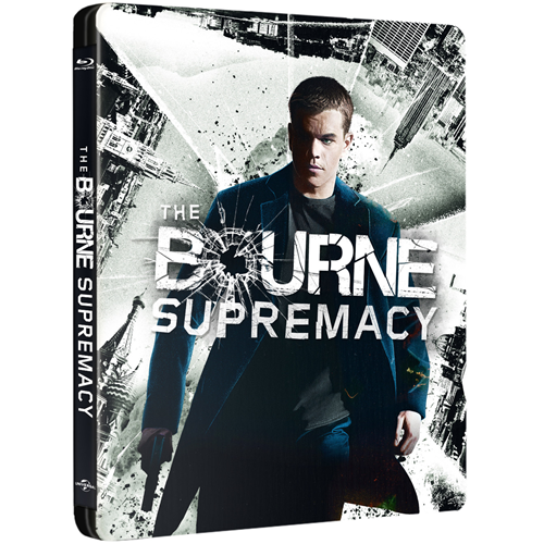 The Bourne Supremacy - Steelbook Edition (BLU-RAY)