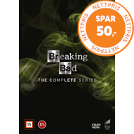 Produktbilde for Breaking Bad - Den Komplette Serien (DVD)