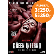 Produktbilde for The Green Inferno (DVD)