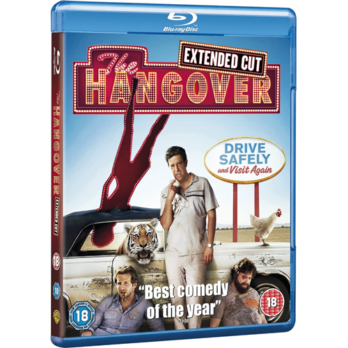 The Hangover - Extended Cut (UK-import) (BLU-RAY)