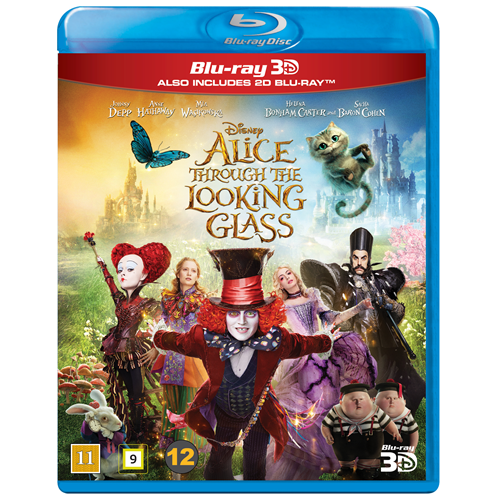 Alice Through The Looking Glass (Blu-ray 3D + Blu-ray)