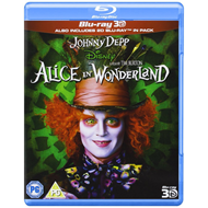 Alice In Wonderland (UK-import) (Blu-ray 3D + Blu-ray)