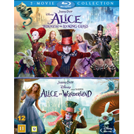 Alice In Wonderland / Alice Through The Looking Glass (BLU-RAY)