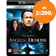 Produktbilde for Engler Og Demoner (4K Ultra HD + Blu-ray)