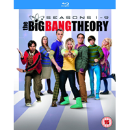 The Big Bang Theory - Sesong 1 - 9 (UK-import) (BLU-RAY)