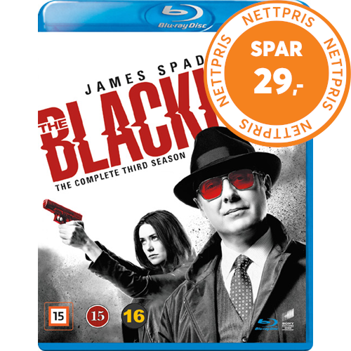 The Blacklist - Sesong 3 (BLU-RAY)