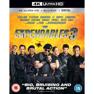 The Expendables 3 (UK-import) (4K Ultra HD + Blu-ray)