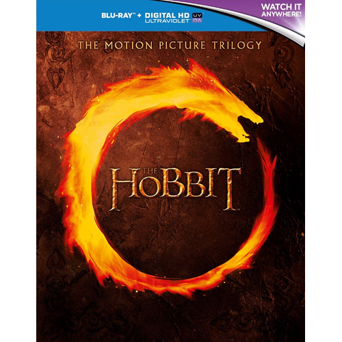 The Hobbit - The Motion Picutre Trilogy (UK-import) (BLU-RAY)