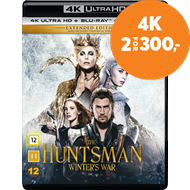 Produktbilde for The Huntsman: Winter's War - Extended Edition (DK-import) (4K Ultra HD + Blu-ray)