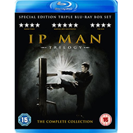 The Ip Man Trilogy (UK-import) (BLU-RAY)