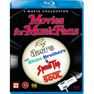 Movies For Music Fans (DK-import) (BLU-RAY)
