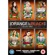 Orange Is The New Black - Sesong 3 (UK-import) (DVD)