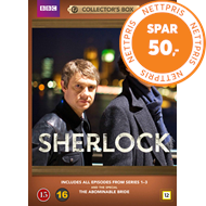 Produktbilde for Sherlock - Collector's Box (DVD)