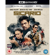 Sicario (UK-import) (4K Ultra HD + Blu-ray)