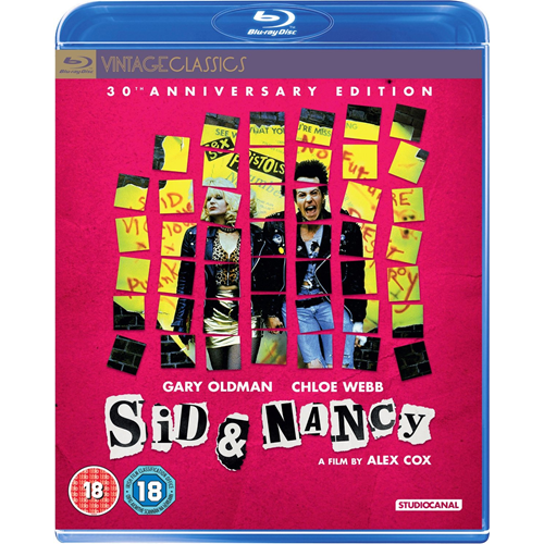 Sid And Nancy - 30th Anniversary Edition (UK-import) (BLU-RAY)