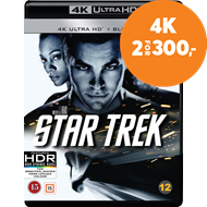 Produktbilde for Star Trek (4K Ultra HD + Blu-ray)