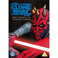 Star Wars - The Clone Wars - Sesong 4 (UK-import) (DVD)
