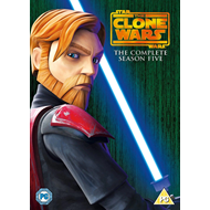 Star Wars - The Clone Wars - Sesong 5 (UK-import) (DVD)