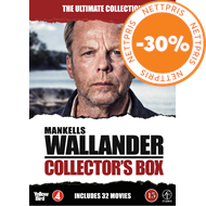 Produktbilde for Wallander - The Ultimate Collection (DVD)