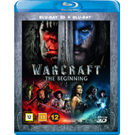 Warcraft - The Beginning (Blu-ray 3D + Blu-ray)