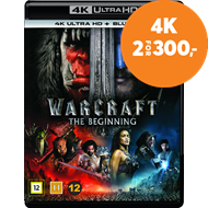 Produktbilde for Warcraft - The Beginning (4K Ultra HD + Blu-ray)