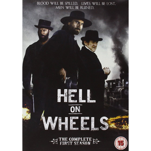 Hell On Wheels - Sesong 1 (UK-import) (DVD)