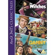 Roald Dahl's Classic Tales - Danny, The Champion Of The World / The Witches / Willy Wonka And The Chocolate Factory (UK-import) (DVD)