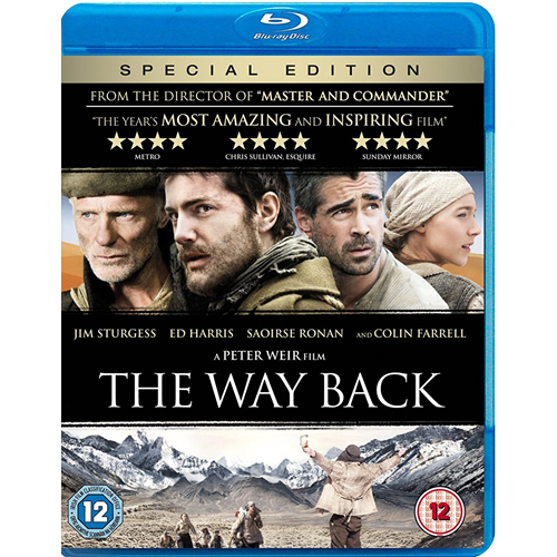 The Way Back (UK-import) (BLU-RAY)