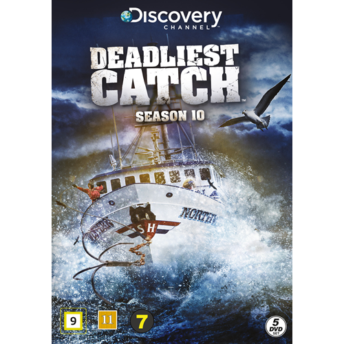 Deadliest Catch - Sesong 10 (DVD)