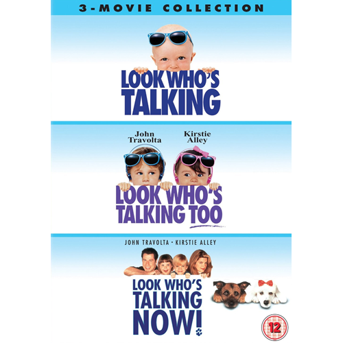 Look Who's Talking 1 - 3 (UK-import) (DVD)