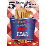 5 Essential Movies For Food Lovers (DVD)