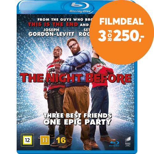 The Night Before (DK-import) (BLU-RAY)