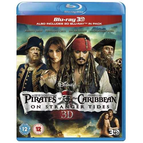 Pirates Of The Caribbean - On Stranger Tides (UK-import) (Blu-ray 3D + Blu-ray)