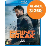 Produktbilde for Point Break (Blu-ray + 3D Blu-ray)