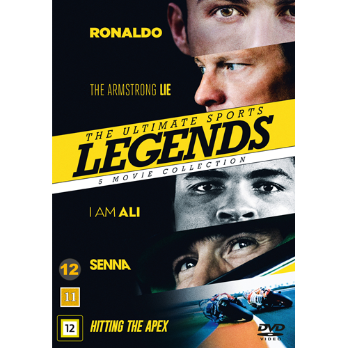 The Ultimate Sports Legends - 5 Movie Collection (DVD)