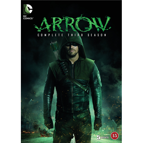 Arrow - Sesong 3 (DVD)