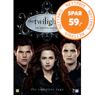 Produktbilde for The Twilight Saga - The Complete Collection (DK-import) (DVD)