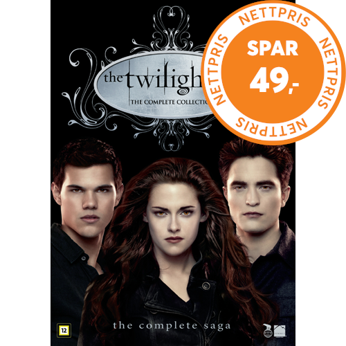 The Twilight Saga - The Complete Collection (DK-import) (DVD)