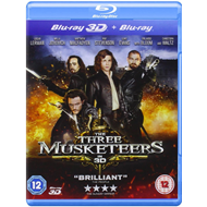 De Tre Musketerer (UK-import) (Blu-ray 3D + Blu-ray)