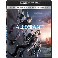 The Divergent Series: Allegiant (4K Ultra HD + Blu-ray)