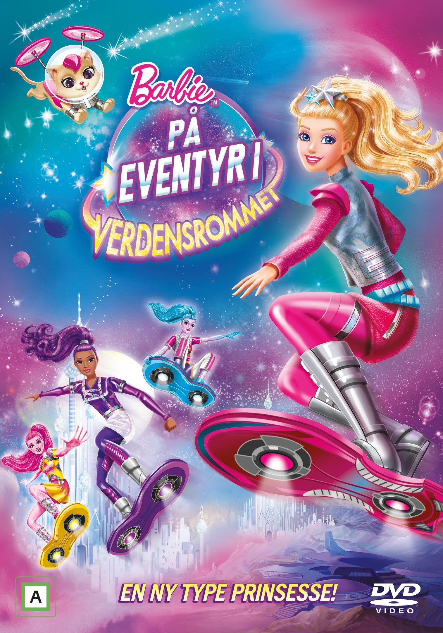 Barbie På Eventyr I Verdensrommet