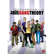 The Big Bang Theory - Sesong 1 - 9 (DVD)