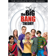 The Big Bang Theory - Sesong 9 (DVD)