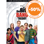 Produktbilde for The Big Bang Theory - Sesong 9 (DVD)